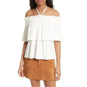 Rebecca Minkoff Off The Shoulder Tank Top